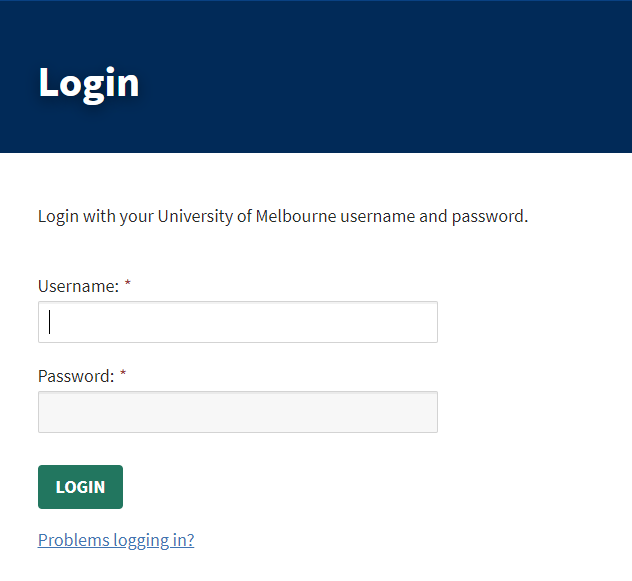 How to login 1